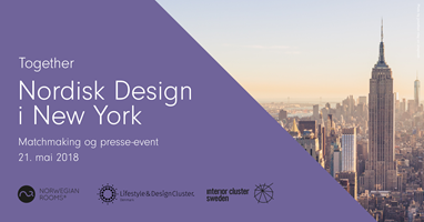 Nordisk Design i New York 21. mai 2018